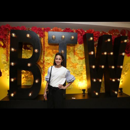 Ainy Jaffri wearing BTW