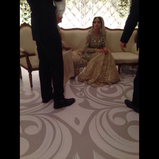 Alisha Hashmi a breathtaking Elan bride