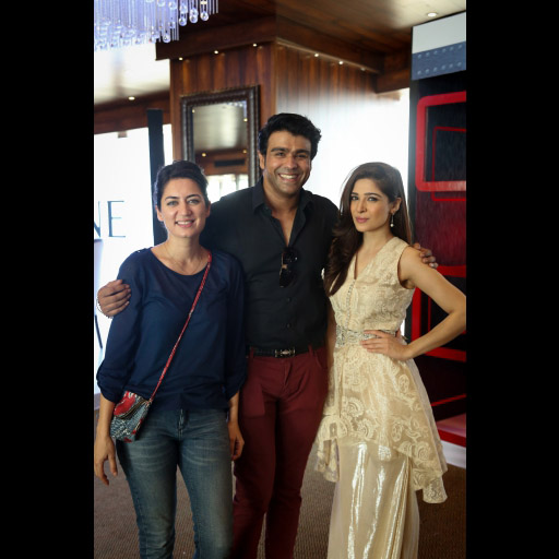 Benish, Junaaid and Ayesha Omar