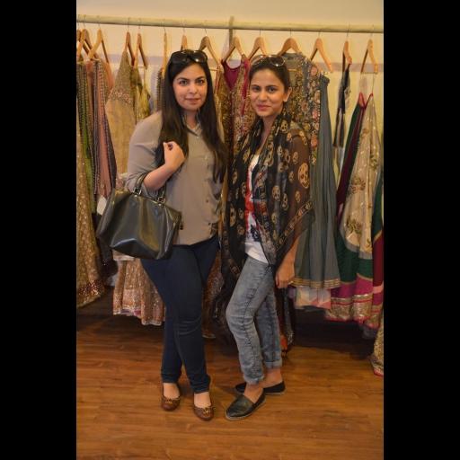 Anusha Bawany and Natasia Khalid