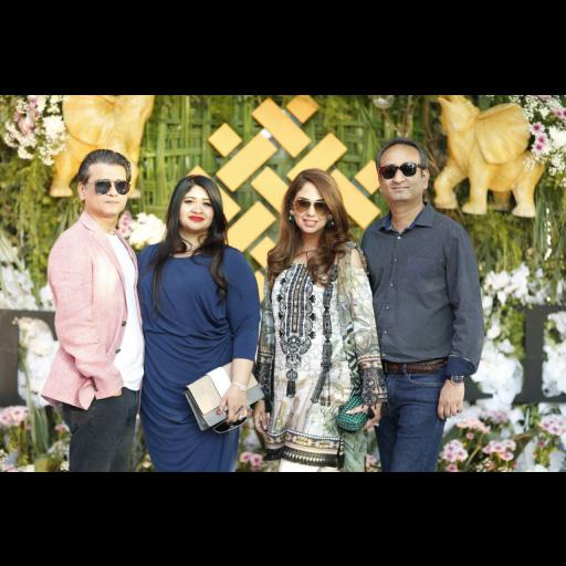 Rizwan, Saira, Yasmin and Nazim