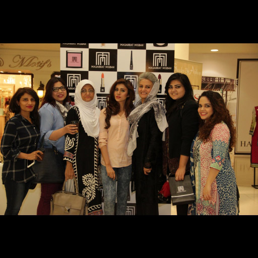 Anila, Maliha Rao, Nighat Misbah, Marvi, Masarrat Misbah,Maryam and Rabeeya