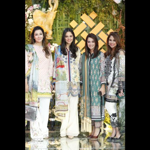 Shiza Hassan, Saira Faisal, Shakira Usman and Saira Rizwan