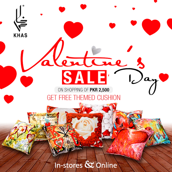 Khas's Valentine's Day Sale