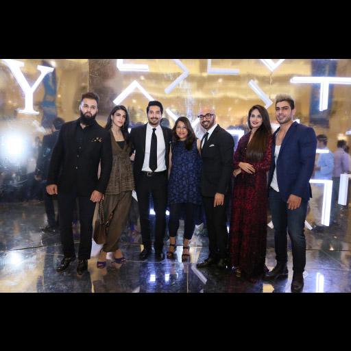 Ali, Anusheh Shahid, Bilal Ashraf, Salwa Rafique, HSY, Mehreen Syed and Waleed Khalid
