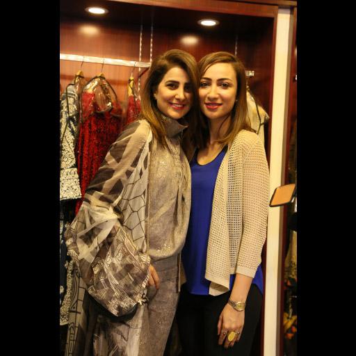 Areeba Habib and Anoushey Ashraf
