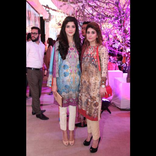 Mishal Asad with Mawra Hocane