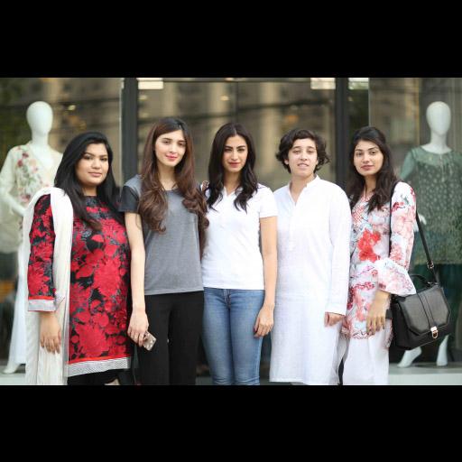 Risham Khan, Aimen Khan, Rehmat Ajmal, Maleeha, Sana Tauseef