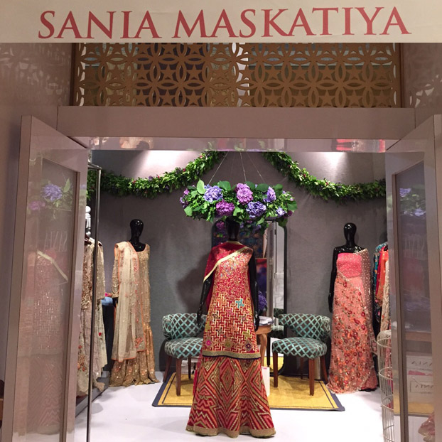 Sania Maskatiya at Vogue Wedding Show 2015 New Delhi, Taj Palace