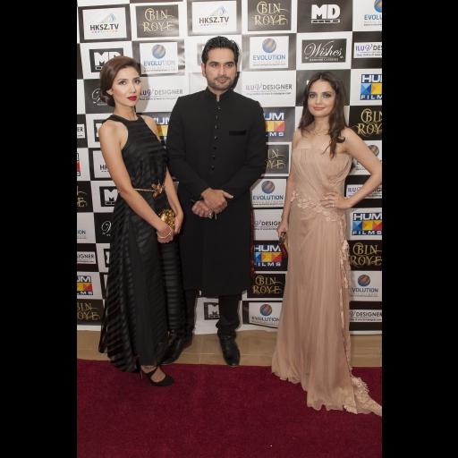 Star cast of Bin Roye, Mahira Khan, Humayun Sayeed, Armeena Rana Khan