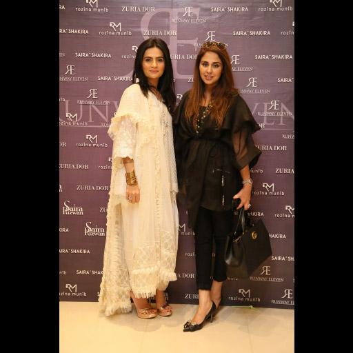 Rozina Munib, Saira Rizwan