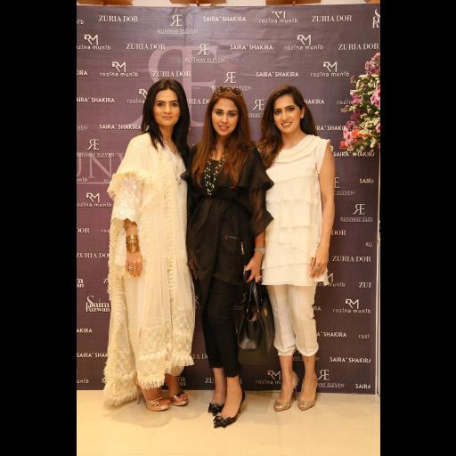 Rozina Munib, Saira Rizwan, Somaya Adnan