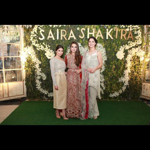 Zara Peerzada, Alyzeh Gabol, Cybil Chowdhry in Saira Shakira