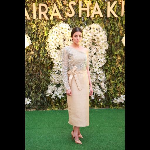 Zara Peerzada wearing Saira Shakira