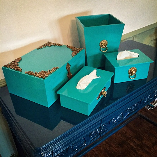 Trend Alert: Tissue Box Makeover with ESQUE!
