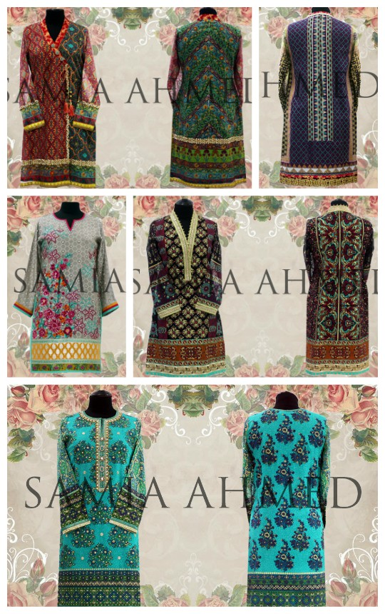 Exhibition Hit List: Samia Ahmed SS'16 Luxury Pret Open House Preview!