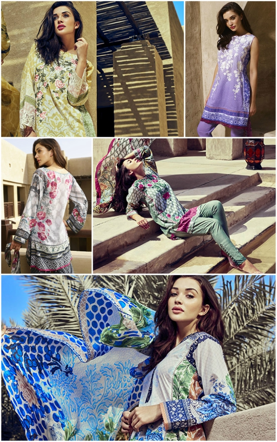 Whats in Store?: Amy Jackson for Saira Rizwan Spring Lawn 2016