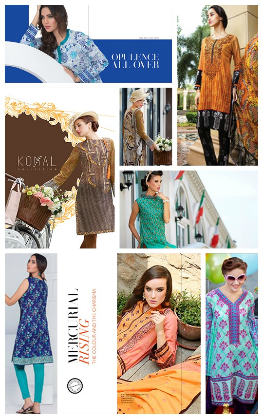 What's in Store?: Lakhany Silk Mills 'Komal Life' SS'16 Lawn!