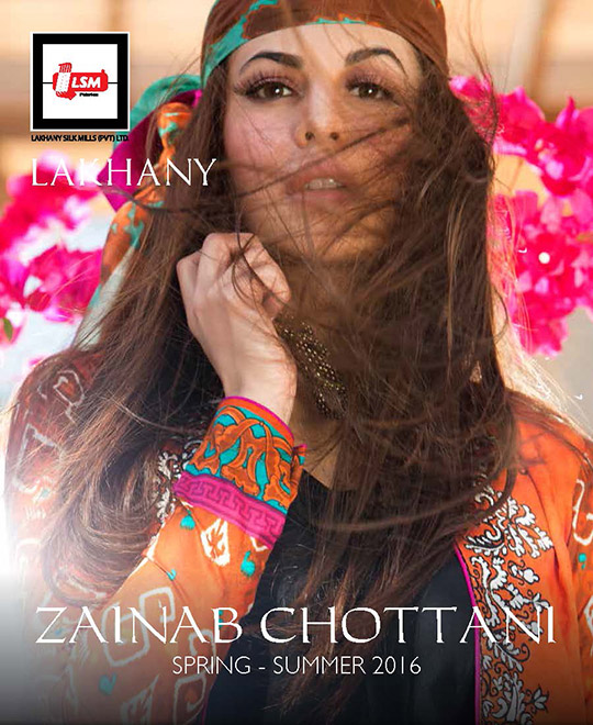 Whats in Store?: Zainab Chottani Spring/Summer '16 Lawn collection!