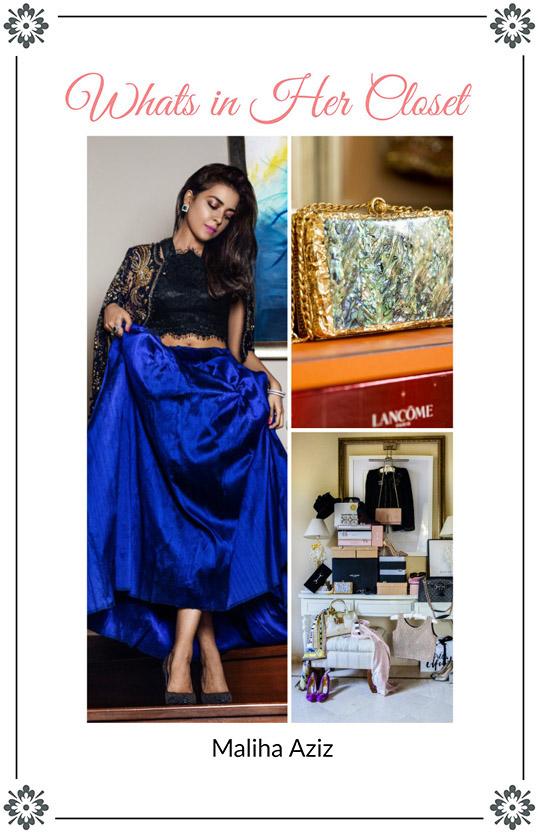 What's in Her Closet? : Maliha Aziz of Design House Farah Talib Aziz!