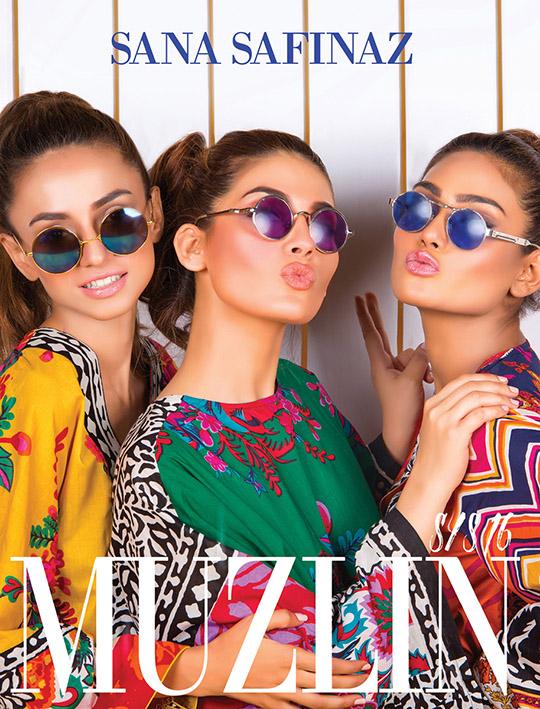 Ready, set, shoot!: Sana Safinaz Spring/Summer'16 'Muzlin' Collection!