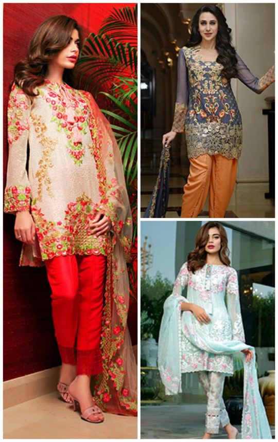 d2adbc93f7 Mina Hasan's embroidered fabric Eid Collection'16