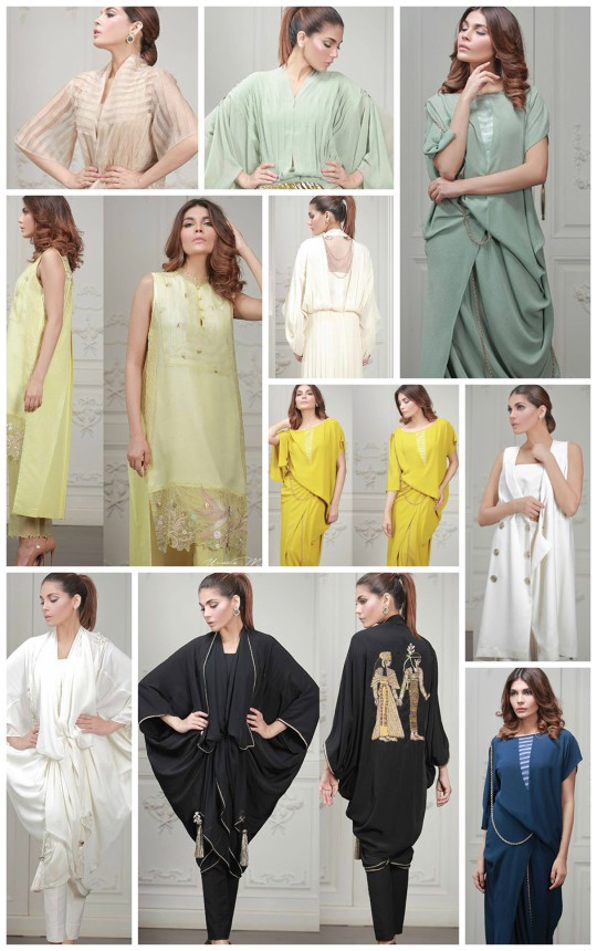Ready, set, shoot!: Umaima Mustafa's S/S'16 collection releasing on the 25th of June!