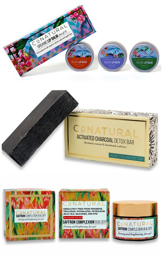 Health & Beauty: CoNatural's range of natural and organic products!