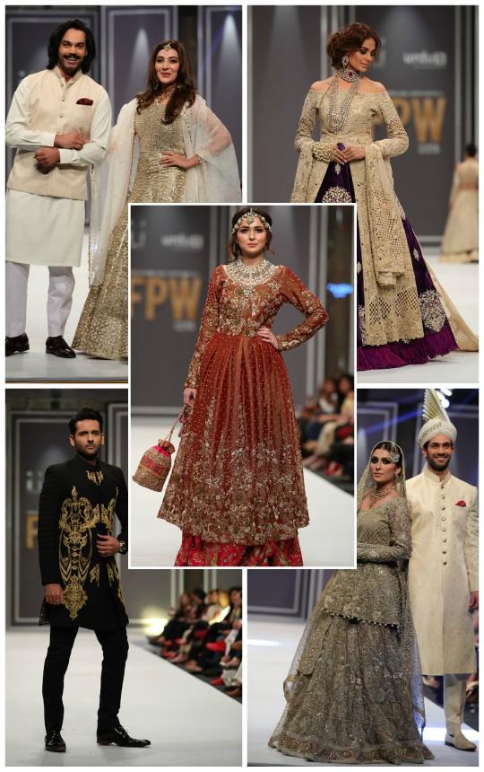 Project Runway: FPW2016 Day 2- Arsalan Iqbal, Deepak Perwani, FnkAsia by Huma Adnan, Natasha Kamal, Shehla Chatoor