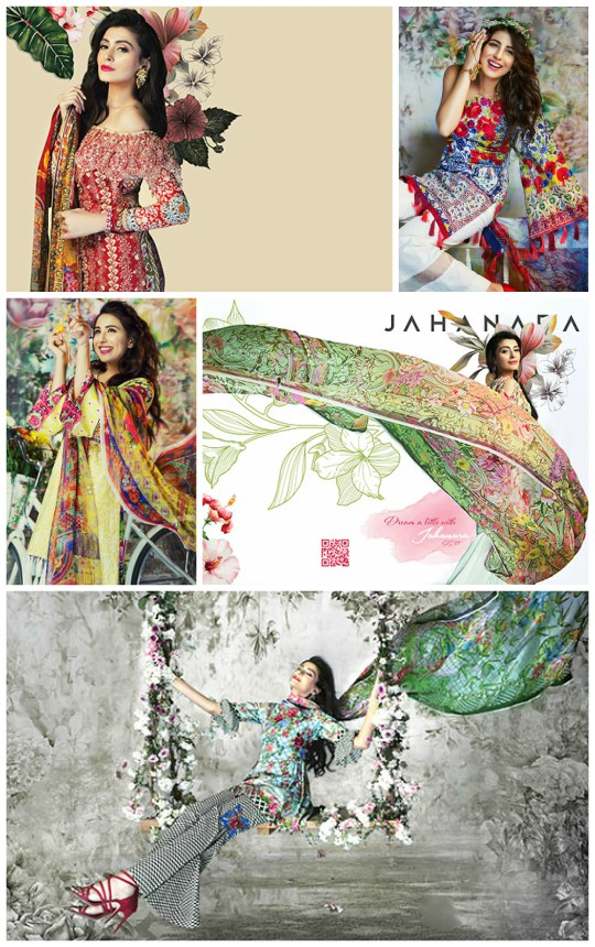 What's In Store: Jahanara SS'17 Lawn Collection