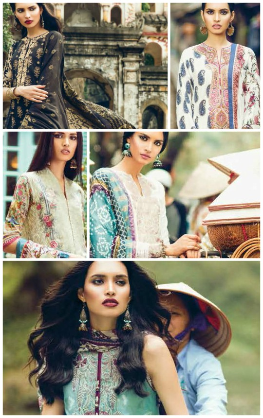 What's In Store: Zara Shahjahan's Unique Lawn Spring/Summer'17 Collection!