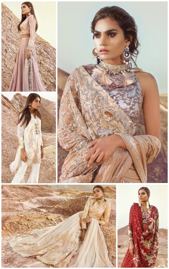 Ready, Set, Shoot!: Tena Durrani's Latest Range of Wedding Wear Formals