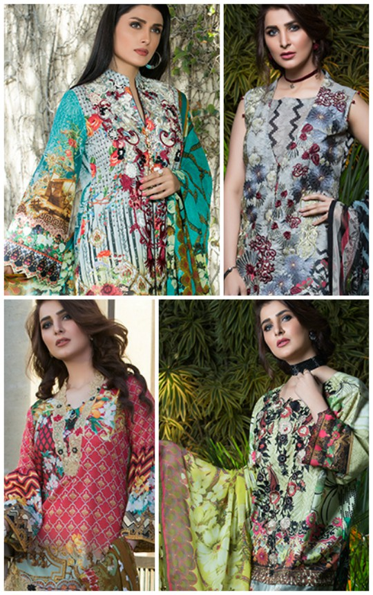 What's In Store: Sifona's Summer Lawn Collection Marjaan Vol- 01