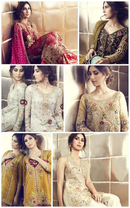 Ready, Set, Shoot: Tena Durrani's stunning new range of wedding wear!