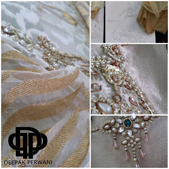 Behind The Scenes: Deepak Perwani's Upcoming 'Gold Dust' Collection at FPW