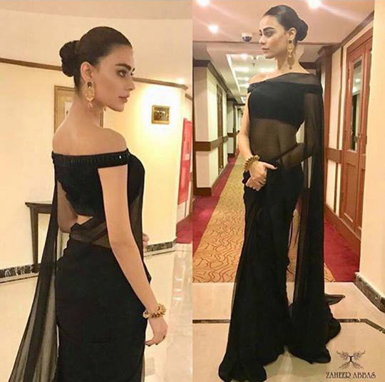 Style Notes! : Steal Her Style- Sadaf Kanwal Shines At The Humtv Style Awards!
