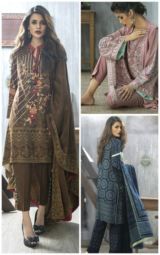 Ready, Set, Shoot! : LSM's 'Winter Pashmina Embroidered Collection'