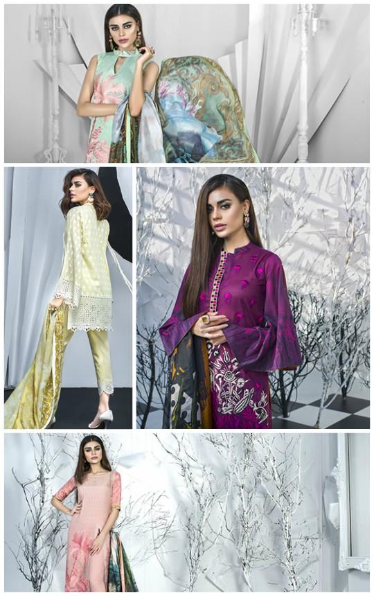 Lawn Fever: Zainab Chottani's Luxury lawn SS 2018 – Paison De Viajar!