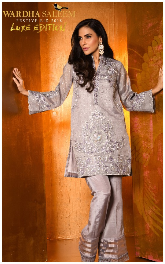 "What's In Store: Wardha Saleem's ""Luxe Edition- Festive Eid 2018"" Collection!"