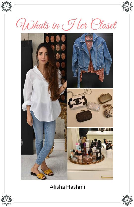 What's In Her Closet?: Alisha Hashmi Of Mina Hasan Gives Us A Peek Into Her Closet!