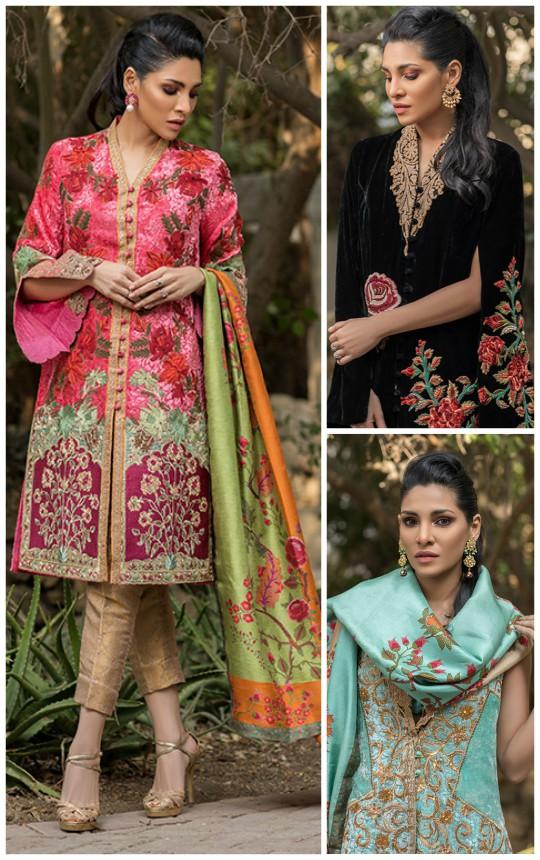 Ready, Set, Shoot!: Shamaeel Ansari Presents Her Ready To Wear Velvet Collection