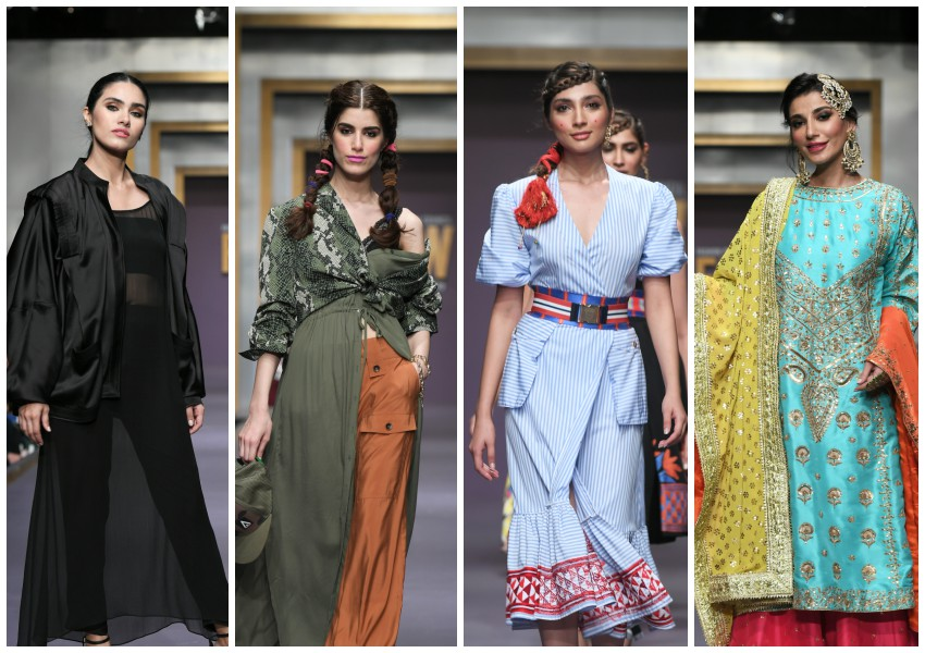 Project Runway! FPW Day 2 Brings The Color Out with Stella Jean, The Pink Tree Company, Splash Pakistan and Maheen Khan!