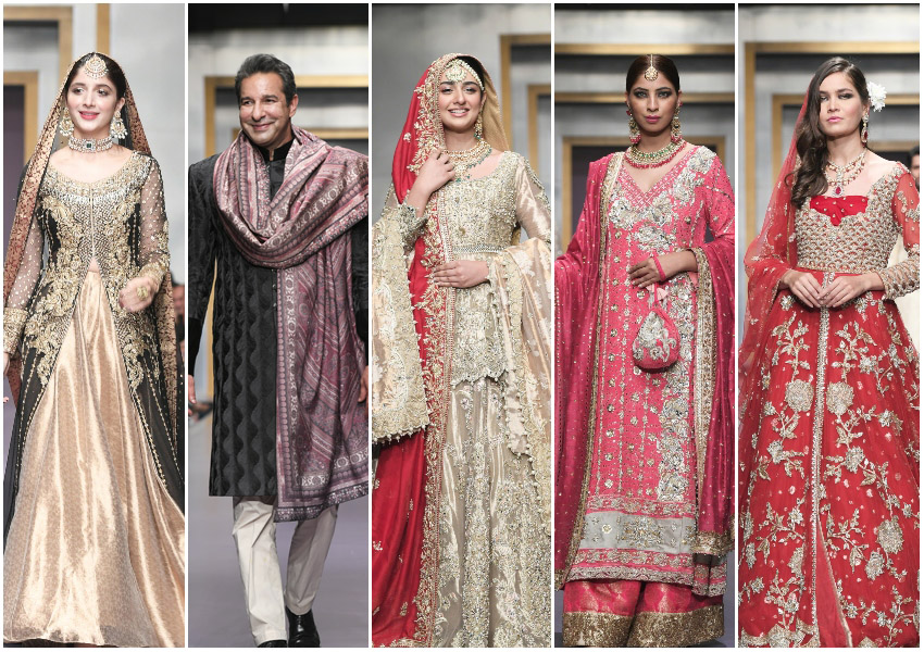 Project Runway!: FPW Day 3 Brings Shimmering Bridals From Zainab Chottani, Shiza Hassan, Sadaf Fawad Khan, Ayesha Ibrahim and Deepak Perwani!