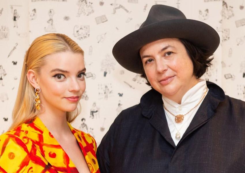 In The Spotlight!: Anna Taylor Joy Wears Esfir Jewels!
