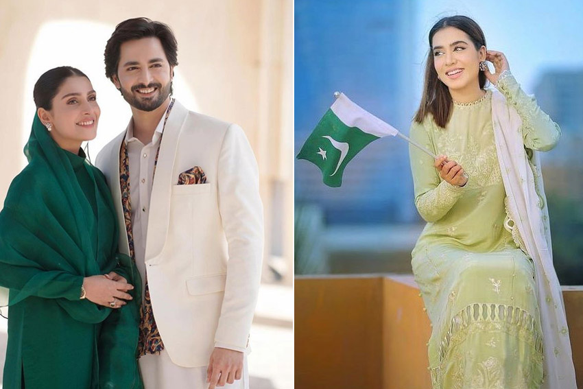 Style Notes: 6 Pakistani Celebrities Who Celebrated Independence Day In Style!